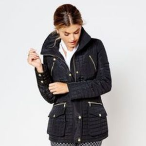 Michael Kors | Black Quilted Jacket XS
